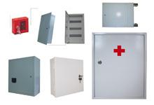 Аптечки,  ящики учета и распределения электроэнергии и др.