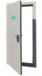 Дверь металлическая противоударная входная огнестойкая    ДМПО