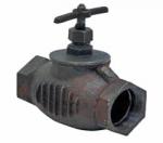 Клапан чугунный  (прямой) 15кч33п Ду-65 (муфта, муфта)