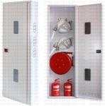 Шкаф пожарный 600x1850x250 навесной (без з/с) - ШПК-320Н-2-25